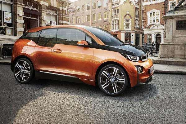 BMW's i3 electric car.