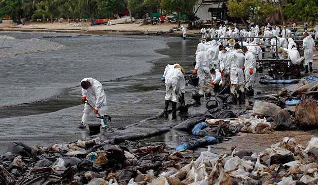 Thai Oil Spill