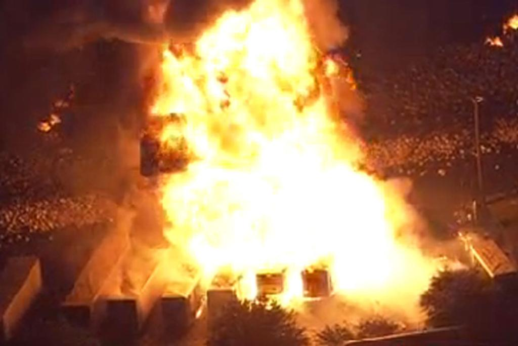US gas plant explosion gallery