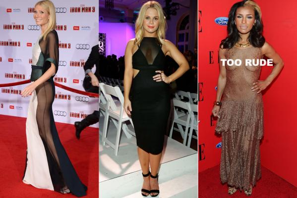 Sheer fashion: Dos and Don'ts