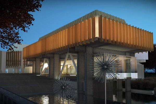 Christchurch Town Hall option 2