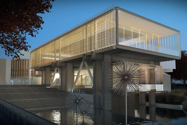 Christchurch Town Hall option 3