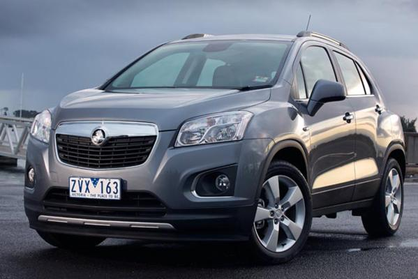 Holden's new Trax LTZ.