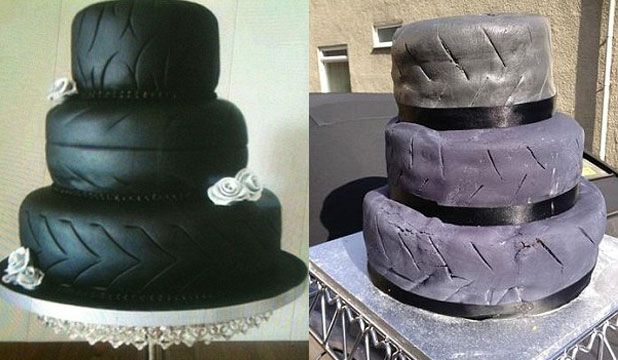 Wedding Cake gone wrong