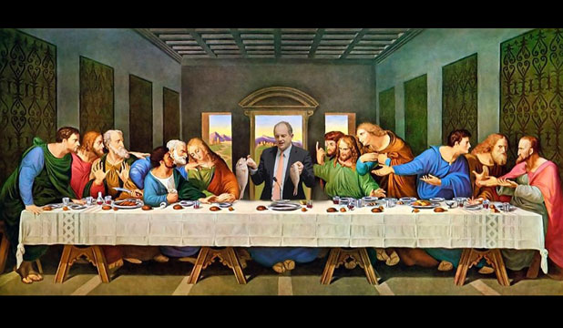 David Shearer last supper