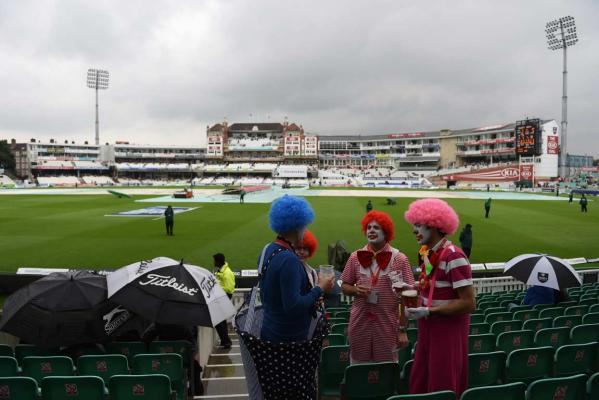 Rain delay at The Oval