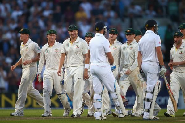 The Ashes fifth test gallery