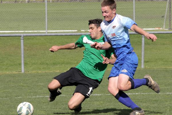 Ngaruawaia United verses North Force