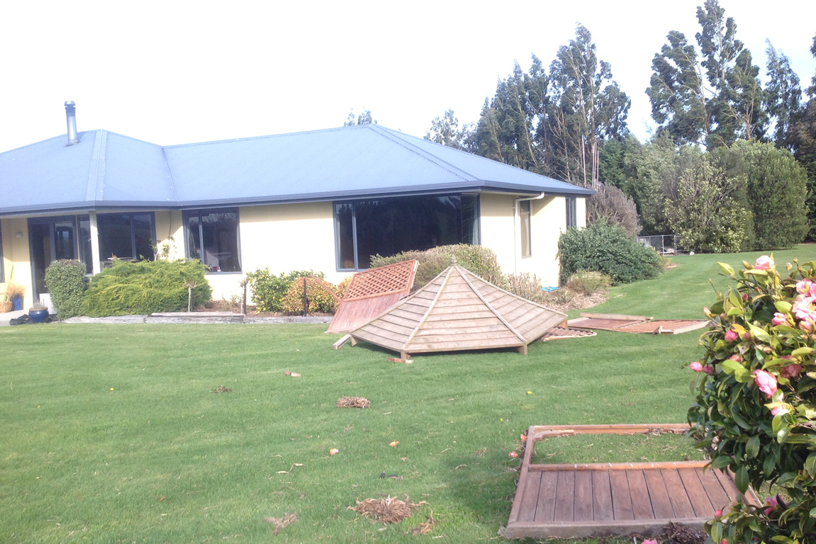 salisbury wind damage timaru