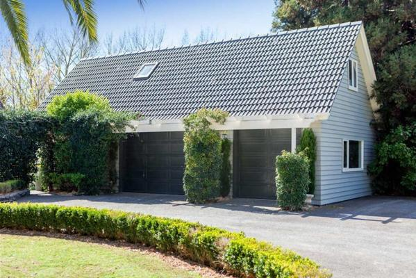 Open homes: Grand garages