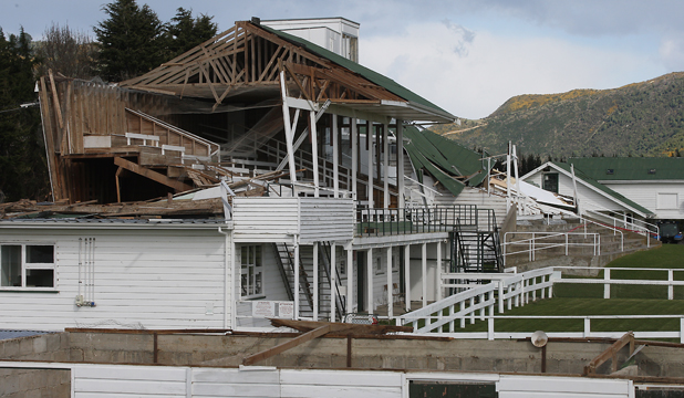 waimate racecourse damage storm