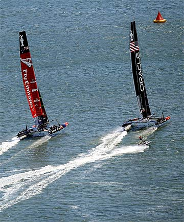 Team New Zealand, Oracle