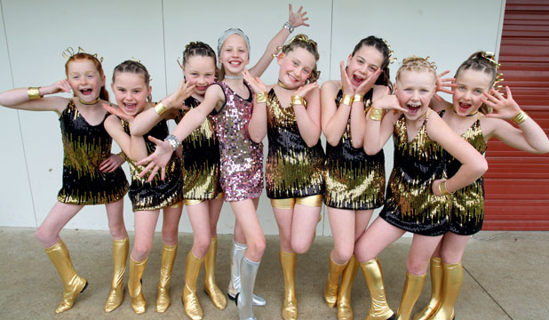 Salford School dancers