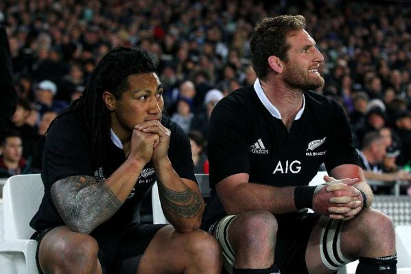Ma'a Nonu and Kieran Read