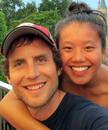 Connor Hayes and Joanna Lam