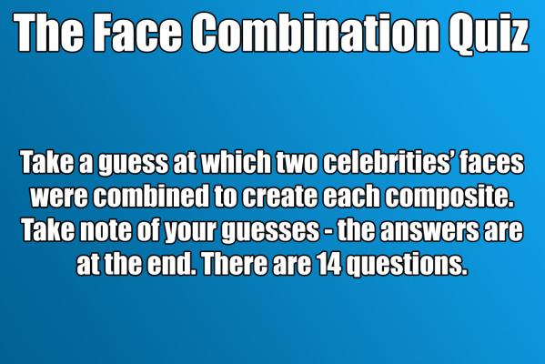 Face blend quiz title
