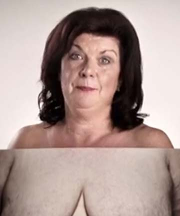 Elaine C Smith breast cancer advertisement
