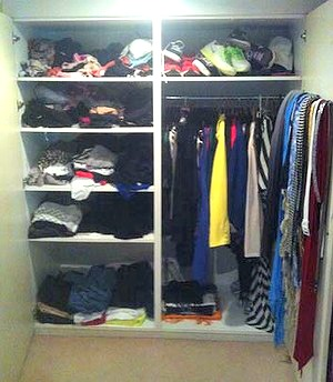 Wardrobe - before