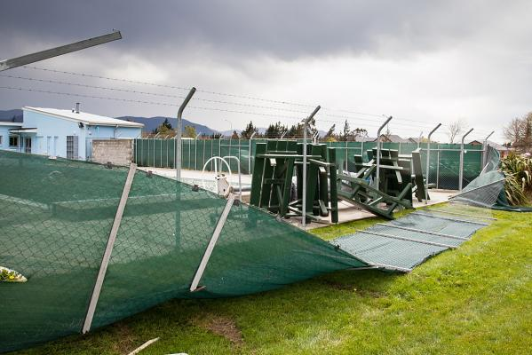 Oxford wind damage