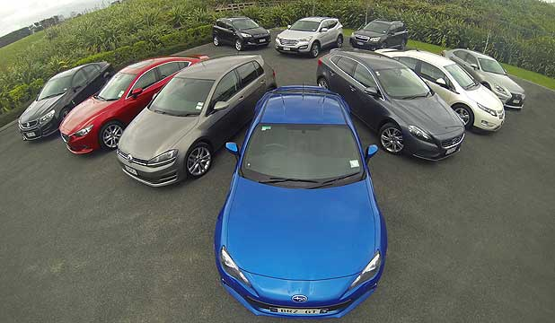 The 10 cars that have just been named finalists for the NZ Motoring Writers Guild's 2013 Car of the Year.