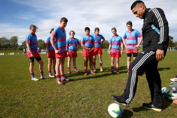 All Blacks prepare in Dunedin