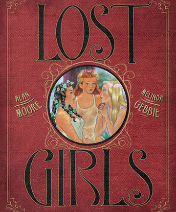 The cover of the graphic novel Lost Girls