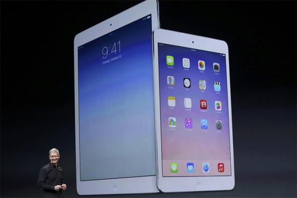 Apple CEO Tim Cook speaks about the new iPad Air and the iPad mini with Retina display.