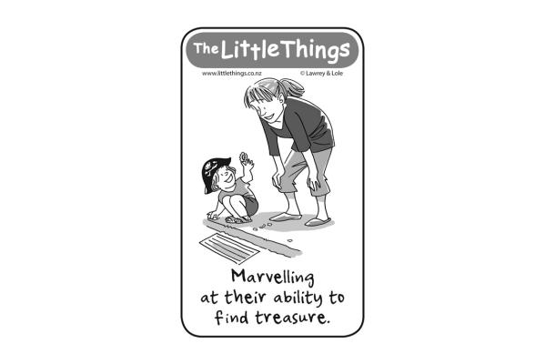 Thursday, October 24: Finding treasure