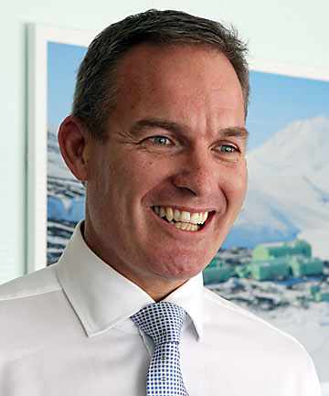 Peter Beggs chief executive of Antarctica New Zealand
