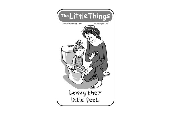 Thursday, October 31: Loving feet