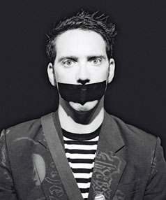 Sam Wills is winning global acclaim for his show, The Boy with Tape on his Face.