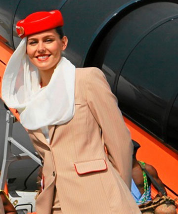 Flight Attendant Emirates Std