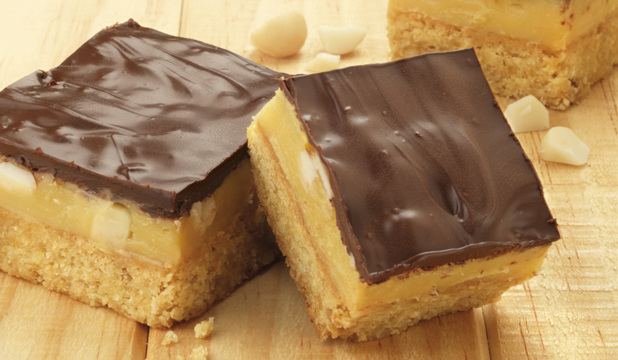 Recipe: Chocolate caramel slice | Stuff.co.nz