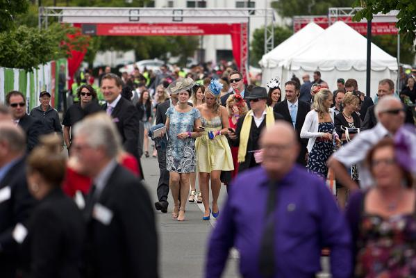 Cup Day crowds
