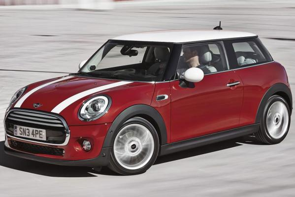 The new Mini Cooper.