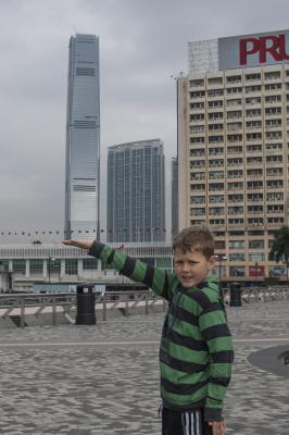 James Coad in Hong Kong