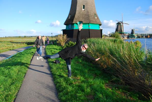 Stand aback from my windmill!