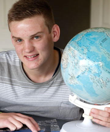 Nayland College student Mitchell Chandler, 17, has been invited by the S