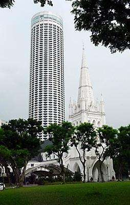Singapore cathedral