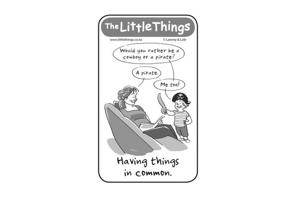 Thursday, November 28: Having things in common