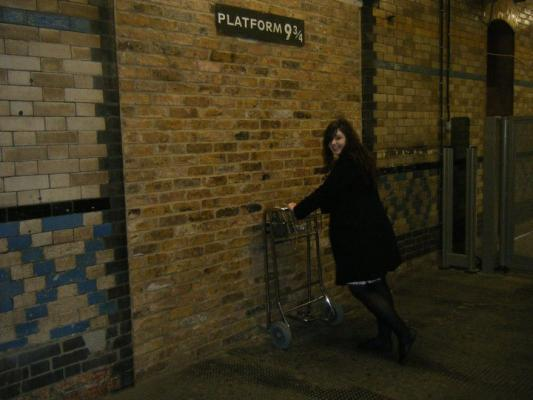 Heading for the Hogwarts Express