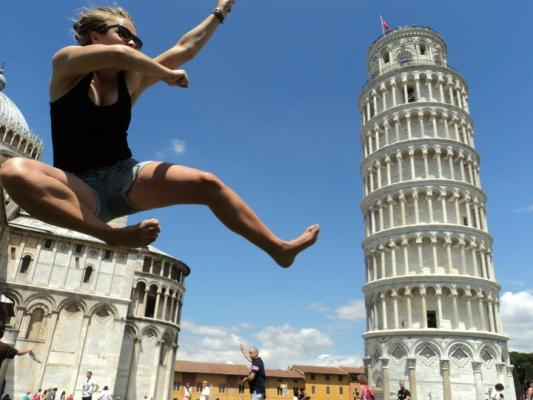 Attacking Pisa!