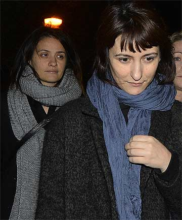 ACCUSED: Nigella Lawson's two former assistants, Elisabetta and Francesca Grillo.