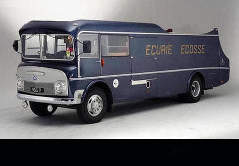 1960 Commer TS3 three-car transporter