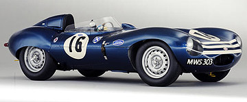 This 1956 Jaguar D-Type 'shortnose' sports-racing two-seater sold for NZ$5,150,341 at auction in the UK.