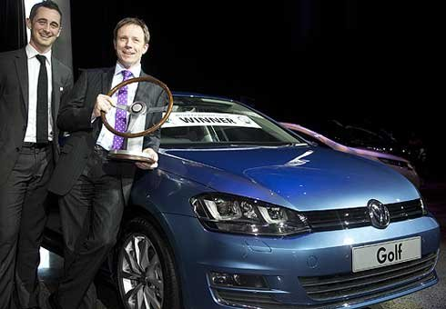 New Zealand's Motoring Writers' Guild have named the Volkswagen Golf as their as the New Zealand Car of the Year.