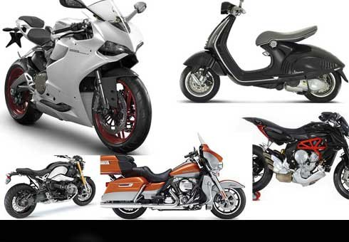 The most desirable bikes for 2014