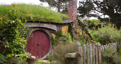 Hobbit house, Matamata