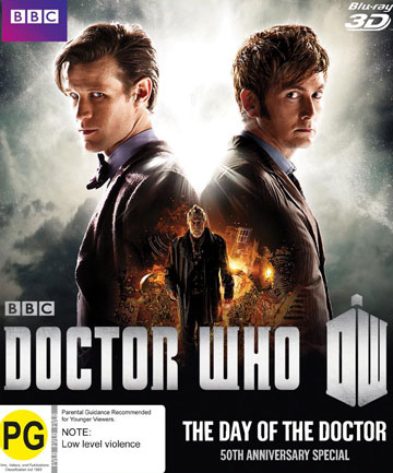 Blu-ray review: Doctor Who - Day of the Doctor