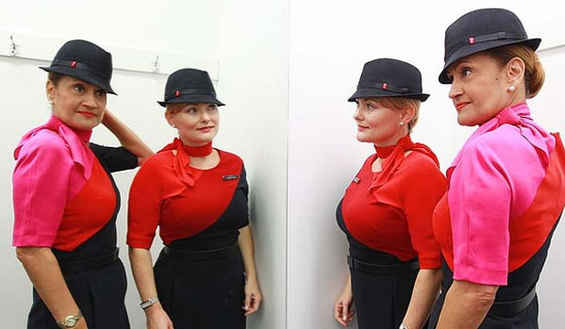 Qantas Uniforms Landscape
